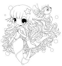 Cute Coloring Pages Printable Anime 4 Girl Home Improvement Pa