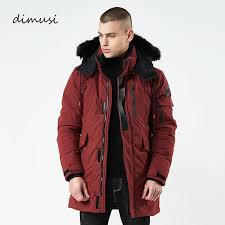 2019 dimusi winte men er jacket casual thick thermal down cotton parkas male long faux fur collar windbreaker hoos coats ta163 from smotthwatch