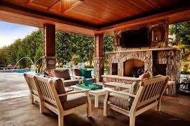 Covered Patio Designs With Fireplace superior Outdoor Patio Ideas