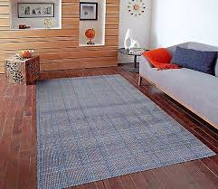 rugs area rugs carpet area rug 5x7 floor modern large gray blue striped rugs new