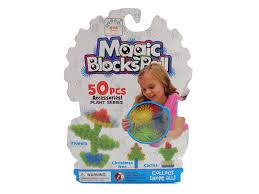 <b>Конструктор</b>-<b>липучка Maomao Magic Ball</b>, серия Растения, 50 ...