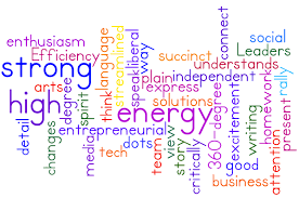 today s employers part 2 of 2 emaestra blog word cloud by wordle of key skills from what i look for in new hires