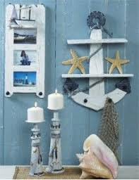 Nautical theme for guest bathroom. Can't be sad when you think you'