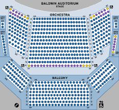 Accessibility Baldwin Auditorium