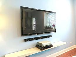 put cable box if tv is wall mounted u5508 hide