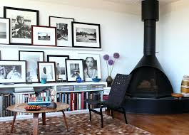 wall collage ideas living room contemporary with artwork colorful books