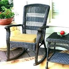 terrific white patio rocking chair patio rocking chairs front white wicker rocking chair bradley white slat