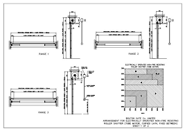garage door dwg autocad drawing designs