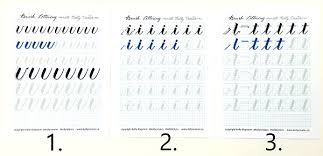 How to Practice the Alphabet with Brush Lettering – Kelly Creates