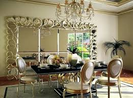 Dining Room Mirror Decor Dining Room Decor Mirror Wall Mirrors For  Throughout Decorative Beautiful Awesome 7 . Dining Room Mirror ...