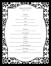 Formal Dinner Menu Template Beauteous Fine Dining Menu Templates With Elegant Style MustHaveMenus