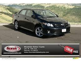 2013 Black Sand Pearl Toyota Corolla S #72597402 Photo #7 ...