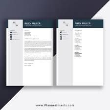 Resume Word Template Modern 2020 Professional Resume Template Modern Cv Template Cover Letter Word Resume 1 3 Page Editable Resume Top Selling Resume Job Winning Resume