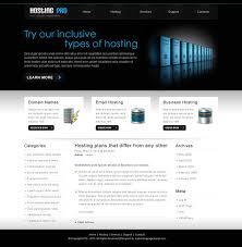 professional webtemplate professional hosting web design psd 09 preview