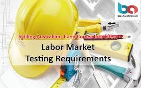 tss worker an announcement regarding skilled australians funds with an effect
