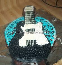 Awesome Guitar Cake Designs To Make The Coolest Ever Guitar Cakes