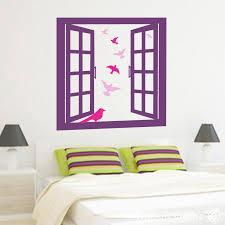 window frame wall art stickers wall