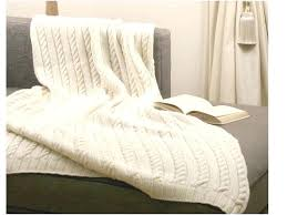 knit comforter white cable knit throw white cable knit blanket merino wool knitted bedding cable knit knit comforter