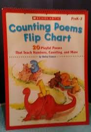 Counting Poems Flip Chart Scholastic Teaching Resources Sc 0439517613 Counting Poems