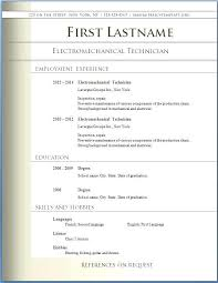 Free Resume Template Download For Word Gentileforda Com