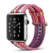 colorful striped genuine leather watch band for apple watch series 3 strap series 1 2 watchbands bracelet 42 38mm watch strap leather leather strap for
