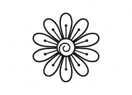 simple flower doodle