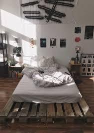 Masculine Diy Wooden Pallet Bed For Man
