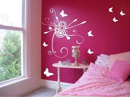 bedroom painting design ideas. Light Blue Wall Colors Themes White Mounted Table Paint Ideas For Bedrooms Teenage Girl Black Floral Pattern Covered Bedding Sheets Red Bedroom Painting Design W
