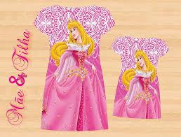 Vestido Mãe e Filha Aurora - 2 peças no Elo7 | Pacotinhos Baby (9533EE)