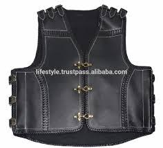leather vest red leather vests men leather biker vest