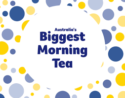 Image result for biggest morning tea logo 2019