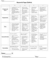 research paper rubric middle school paper rubric a complete research paper help research paper rubric example
