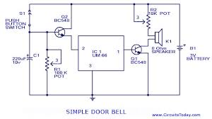 wireless doorbell circuit diagram images doorbell wiring circuit doorbell schematic diagram get image about wiring