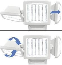 Berkley Jensen Solar Security Light 150 Led Triple Head Solar Motion Security Light 1000 Lumen Output