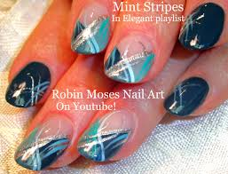 Robin Moses Nail Art: #mintmani and Announcement of brush Winners!