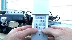 sear garage door opener remote replacement