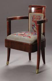 art deco furniture. Furniture: French, An Art Deco Armchair From The Normandie. Designed Maurice Pre, Furniture A