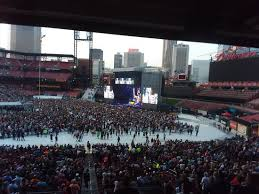 Busch Stadium Concert Seating Chart Section 137 Row 29 Seat 18 Good Seats Picture Of Busch