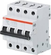 ABB <b>S203 Автоматический выключатель</b> 3P+N <b>25A</b> (B)