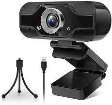 Webcam mit Mikrofon, 1080P HD Streaming Webcam mit Abdeckung und Stativ,  USB Computer Kamera für Videokonferenz, Gaming, Laptop: Amazon.de: Computer  & Zubehör