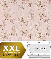 Bolcom Bloemen Behang Hoogwaardig Edem 978 33 Roze Behang