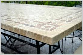 elegant tile top patio table for tile top outdoor dining table 38 tile top patio table