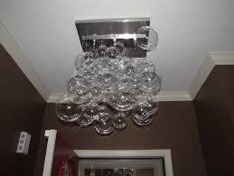 gallery of affordable glass bubble chandelier diy with bubble light chandelier with bubble light fixture