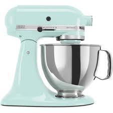 kitchenaid 4 5 qt mixer. kitchenaid artisan 5 qt. ice blue stand mixer-ksm150psic - the home depot kitchenaid 4 qt mixer 1