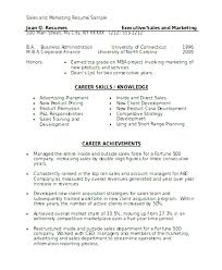 Stunning Resume For Sales And Marketing In Word Format Ideas .