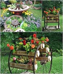 decorative wooden garden carts amazing ideas to decorate your home with wagon wheels gardenia fertilizer decorative wooden garden carts