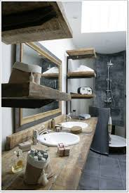 Rustic Bathroom Design New Ideas