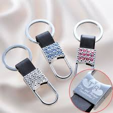 wedding return gifts 15 ideas items that are actually useful e angel rakuten global market rhinestone x leather key ring