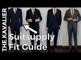 Suitsupply Suit Fit Guide Havana Sienna Washington Jort La Spalla