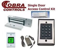 complete single door pin code magnetic lock kit indoor only by for assistance this kit please use the live chat feature or call us toll at 1 866 500 5625